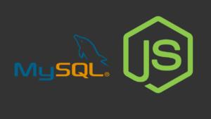 Conectar MySQL con Node js